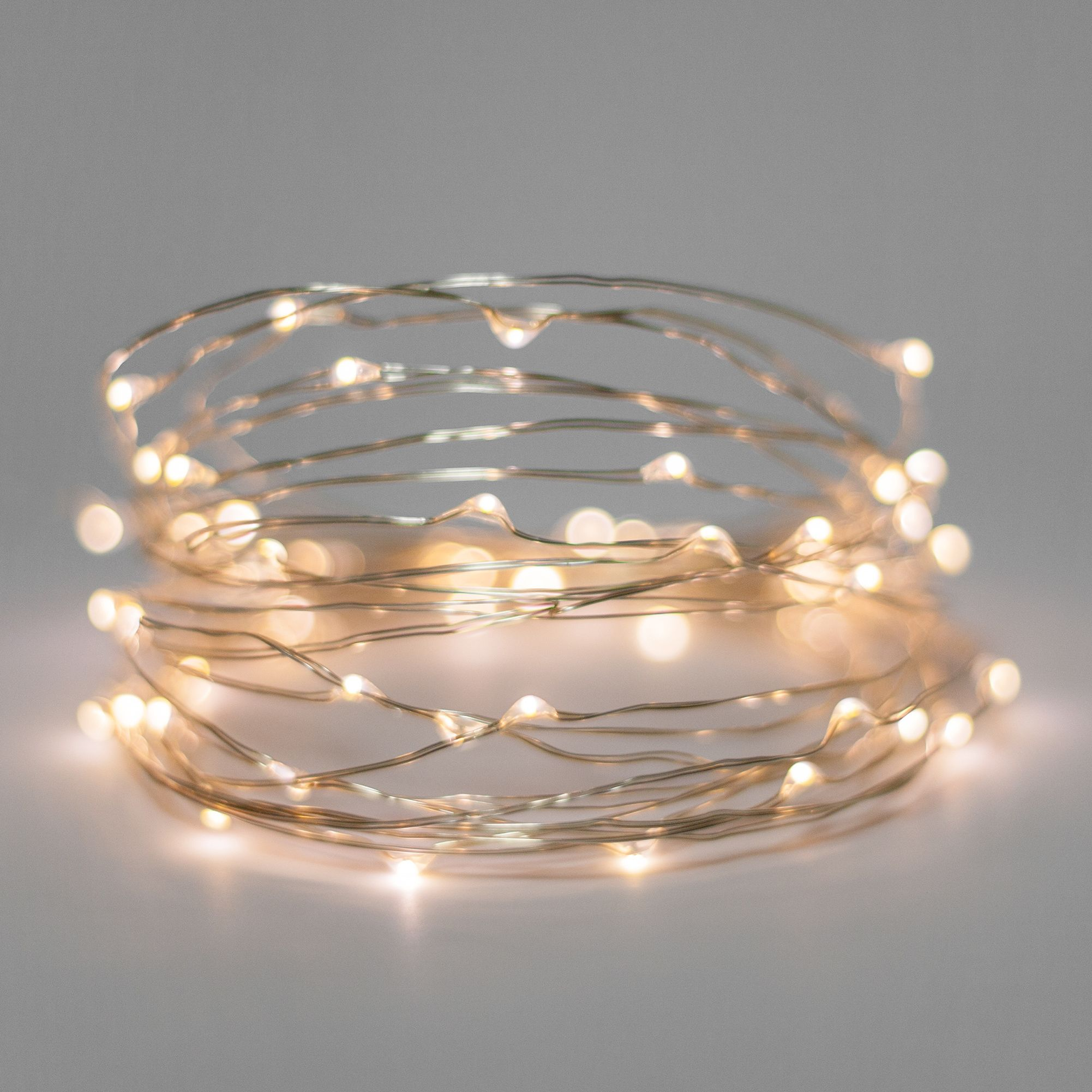 30 Warm White Battery Operated Led Fairy Lights Silver Wire Led Fairy Lights Fairy Lights Wire Fairy Lights