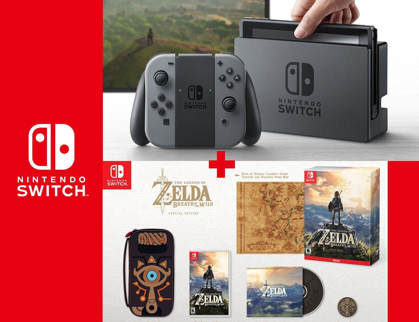 #Trending04 - New Nintendo Switch Bundle 32 GB Gray ...