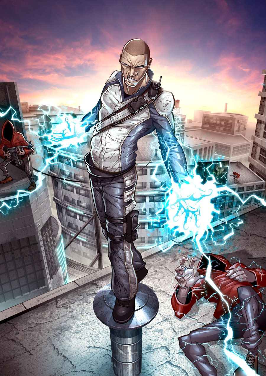 inFAMOUS by on deviantART