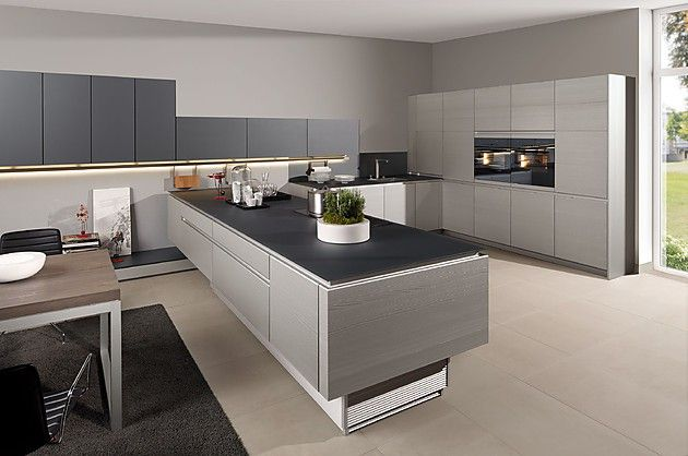 15 fotos de cocinas grises - Colores en Casa Para el hogar Pinterest