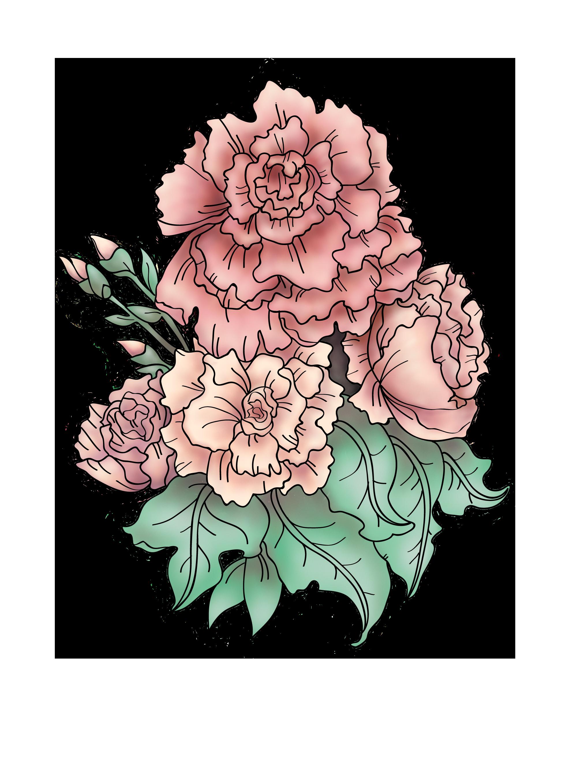 Art As Ink Project Carnation Tattoo Tattoo Artists Flower Art Images