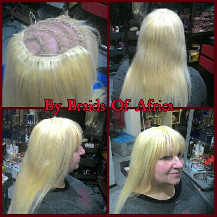 Full Head Weave Hair Extensions On Very Thin Hair To Create That
