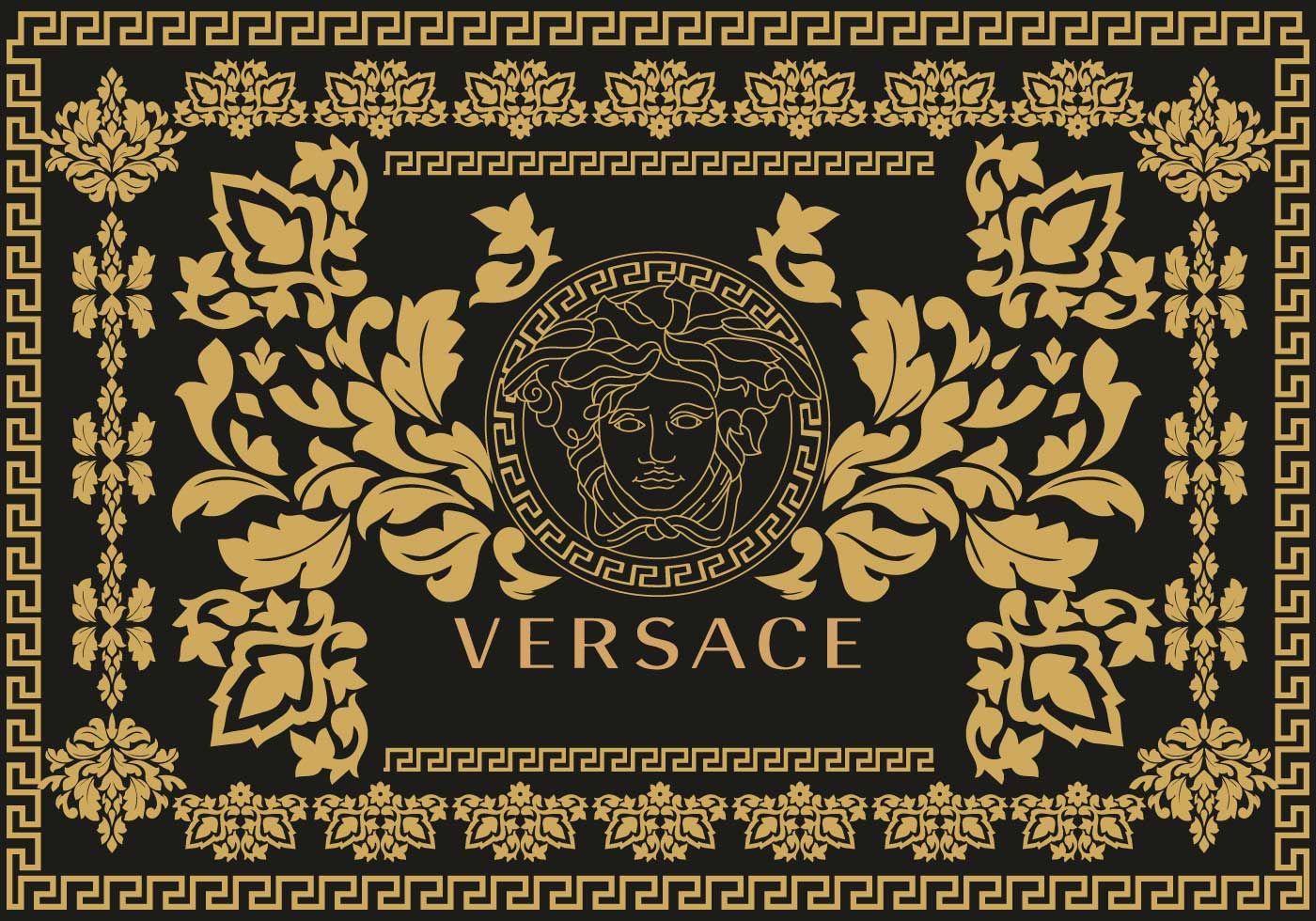 Versace Background Vector Versache
