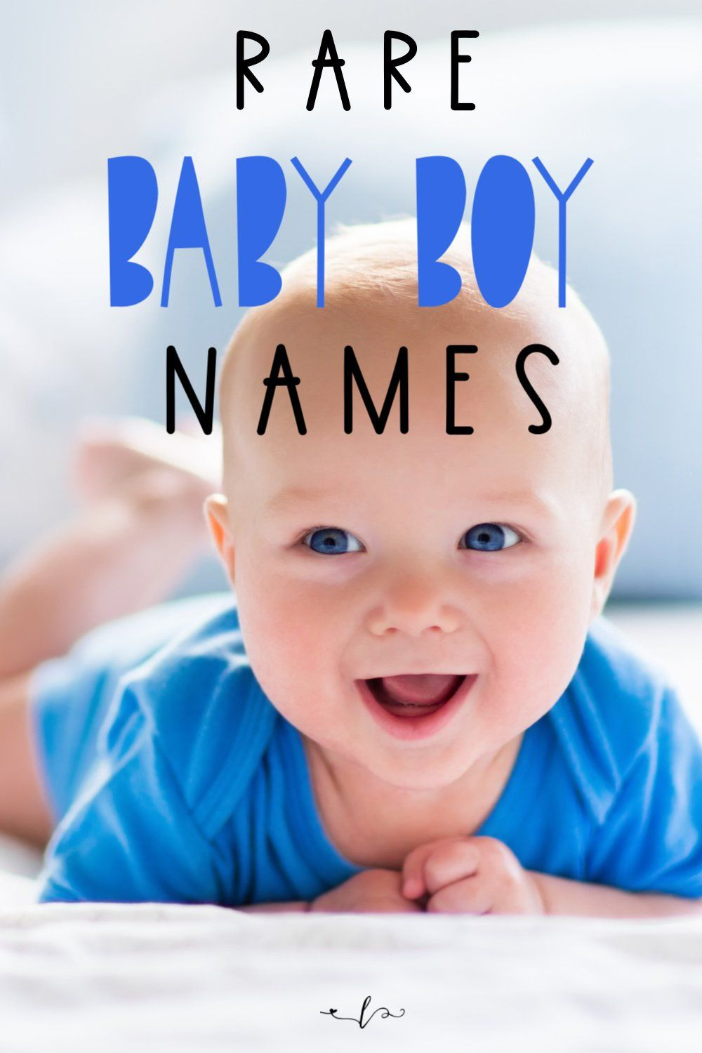 Rare baby boy names that will knock your socks off. These 35+ rare baby boy names will be perfect to use in 2020. These uncommon baby names are perfect for your unique new addition to your family. #babynames #rarebabynames #babyboynames #alifeinlabor
