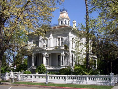 Mchenry Mansion Modesto Ca Victorian Houses Pinterest