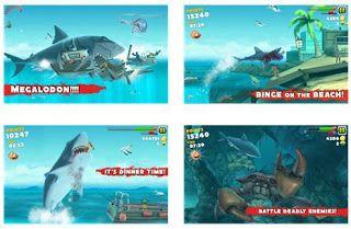 hack hungry shark evolution windows phone