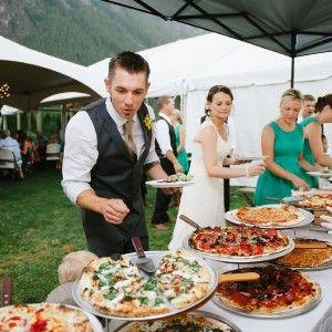 Woodfired Pizza Wedding Catering Pizza Wedding Wedding Food Backyard Wedding Food