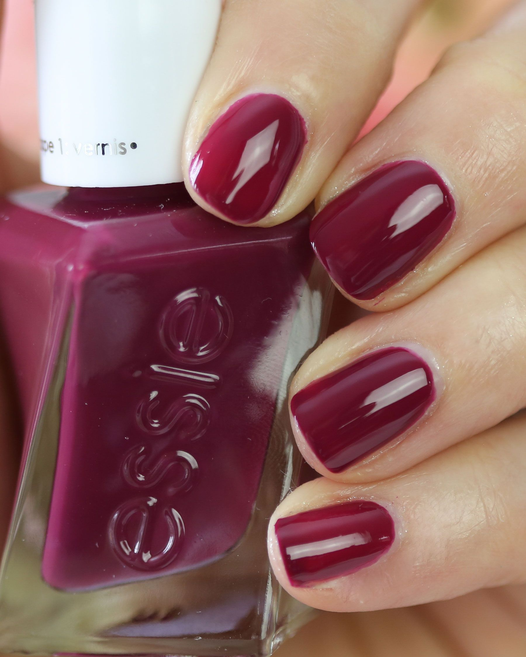 Berry in Love | Essie | Pinterest | Berry, Essie gel and Nail nail