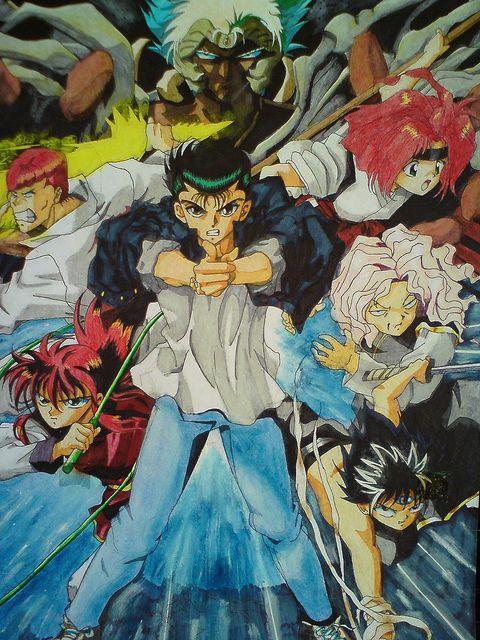 Yuyu Hakuso A K A Ghost Fighter Manga Continuation On 2015 Rumored Anime Manga Old Anime