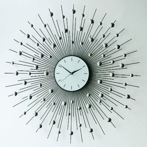 10 beautiful crystal wall clock designs wall clocks wall clock design and clock