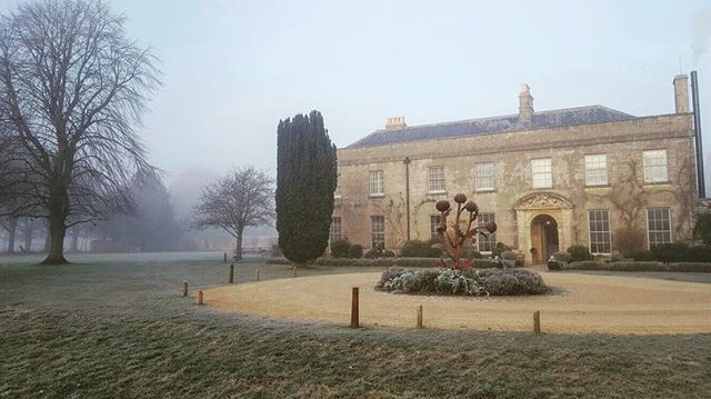 Magical frost and fog at THE PIG-near Bath! ❄️ #january #piggythings www.thepighotel.com/near-bath