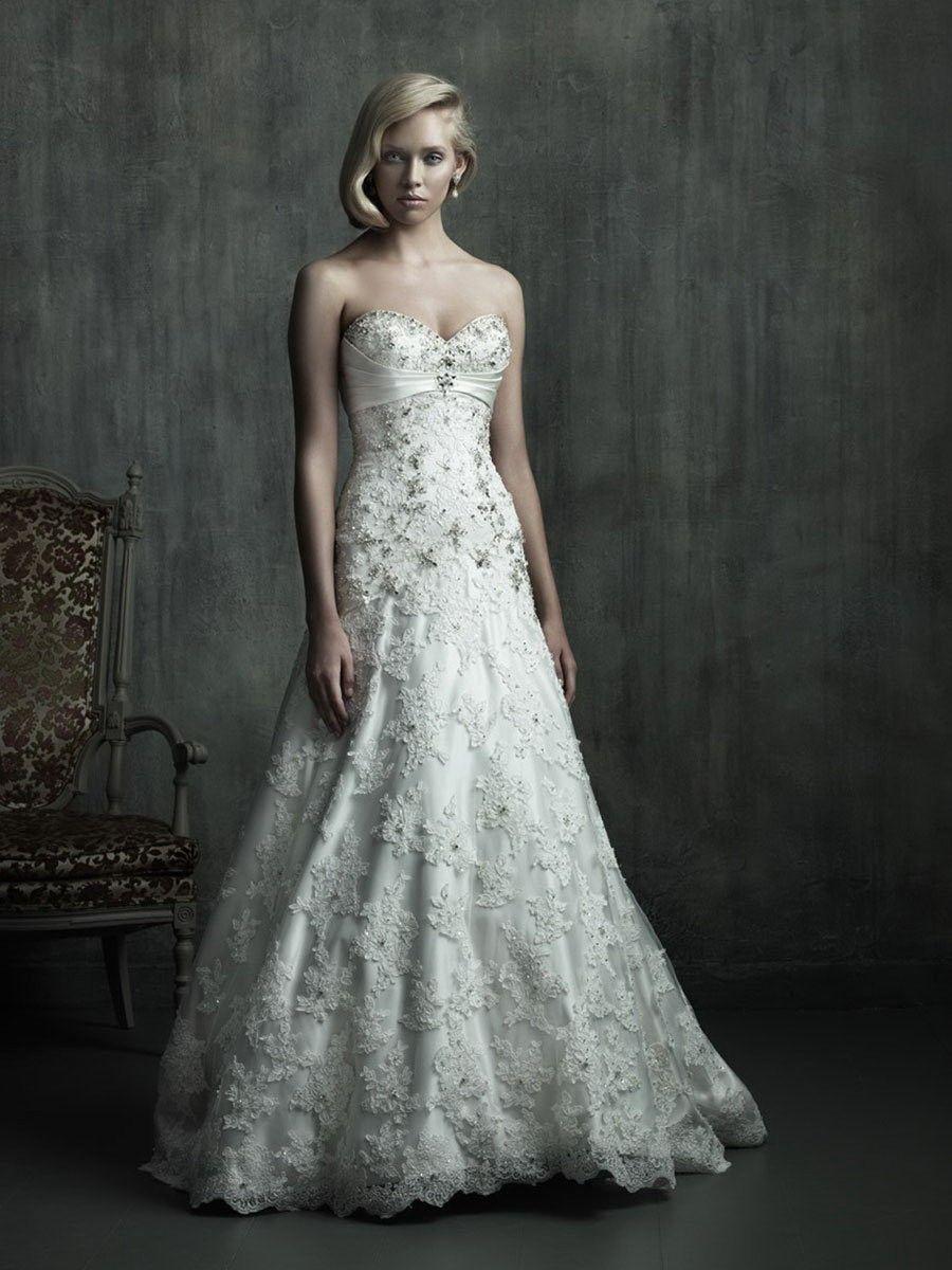 Beaded Wedding Dresses | WEDDING DRESS TREND | Pinterest | Beaded ...