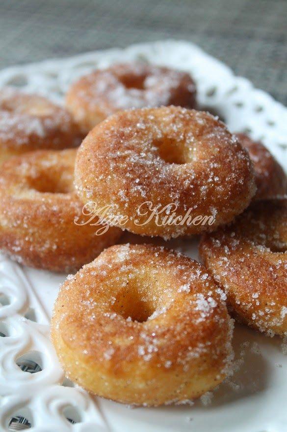 Azie Kitchen Donut Gebu Dan Lembut Resipi Recipes Bread