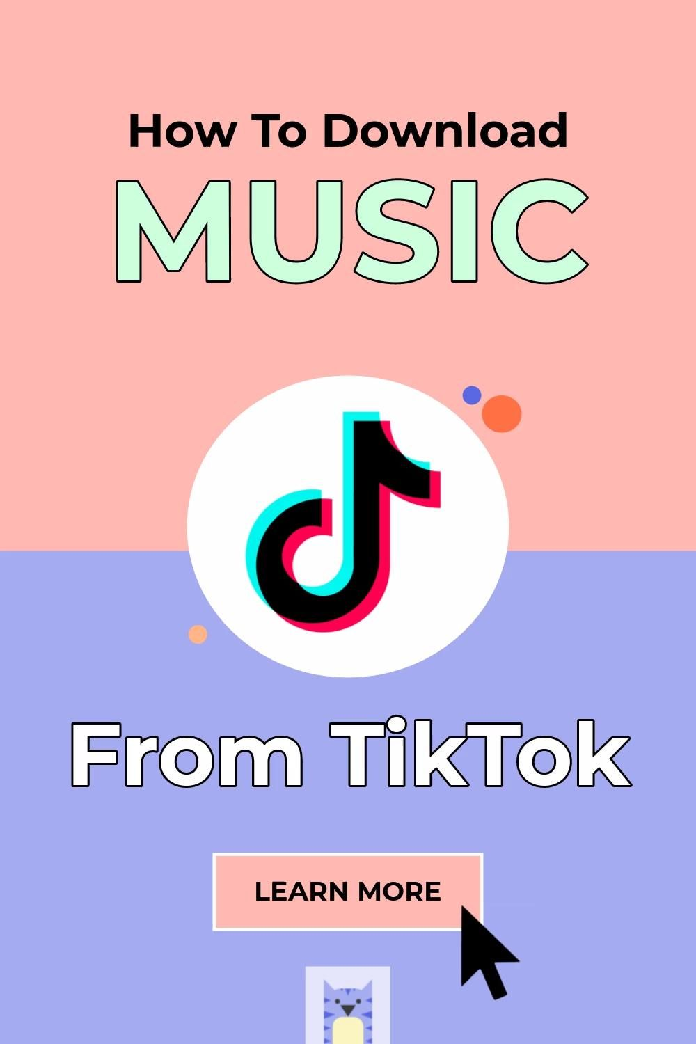 How To Download Music From Tiktok Video Music Download Music Playlist Music