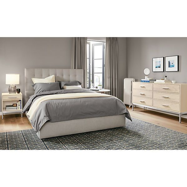 Avery Upholstered Storage Bed With Drawer Beds Bedroom Room Board