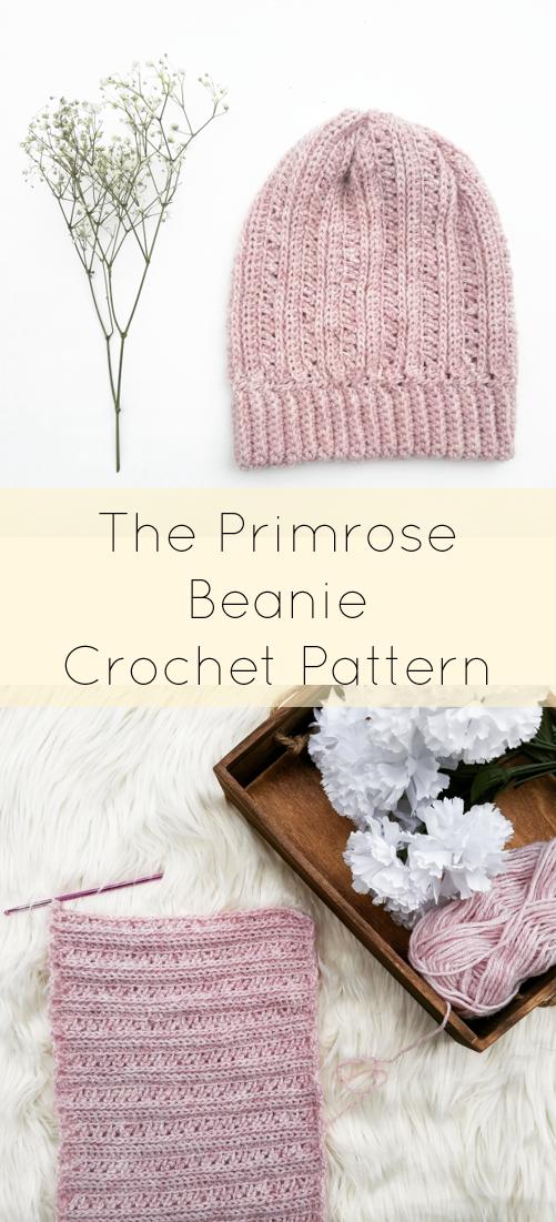 Crochet Hat Pattern/ Easy Crochet Beanie Pattern/Beginner Toque ...