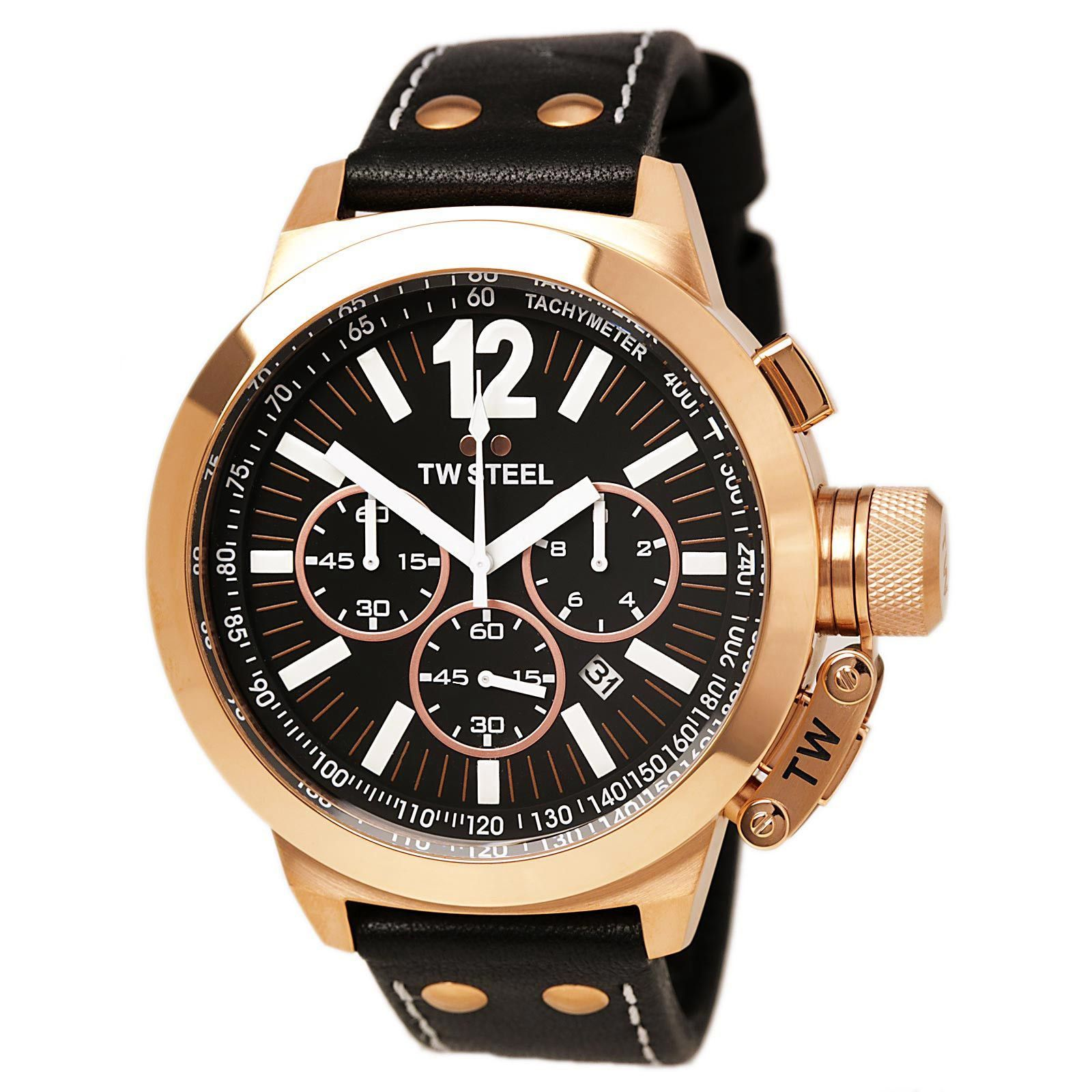 TW Steel CE1024 Men's CEO Chronograph Black Dial Watch
