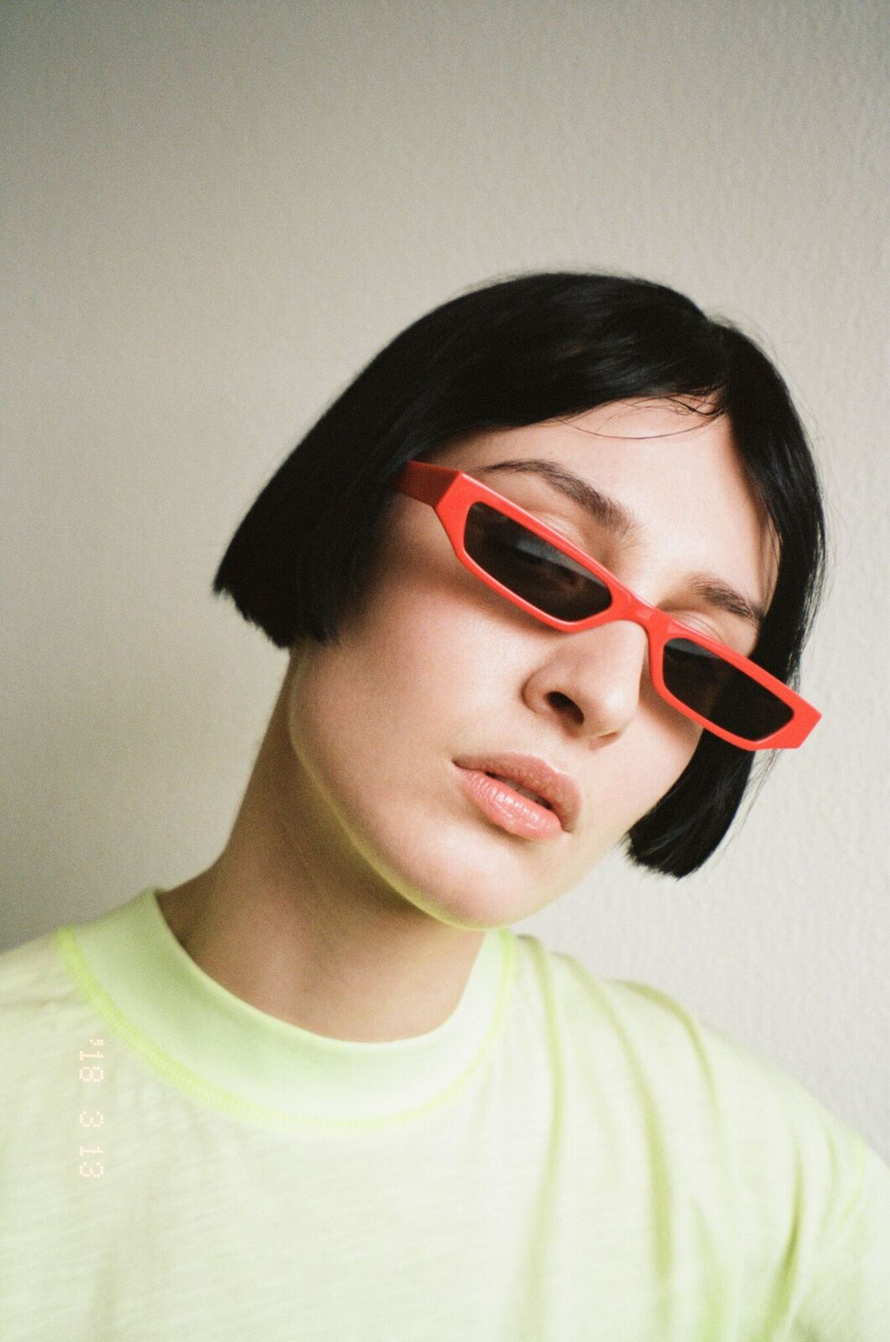 Ace   Tate Futuristic Sunglasses in Pris and Neo Yellow Black Red Sci-Fi  Movie Characters cdbc20a936