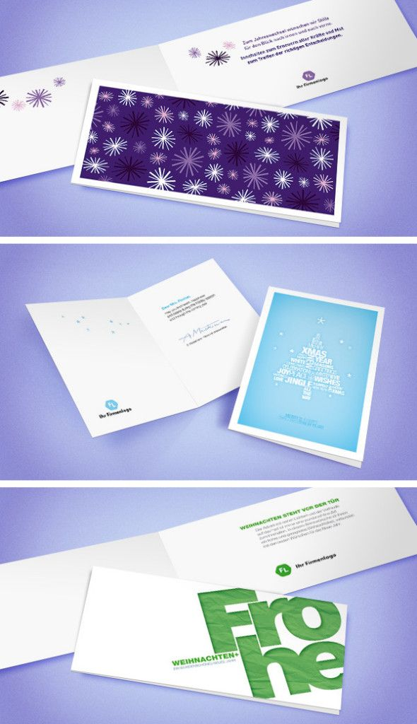 gesch ftliche weihnachtskarten business christmas cards. Black Bedroom Furniture Sets. Home Design Ideas