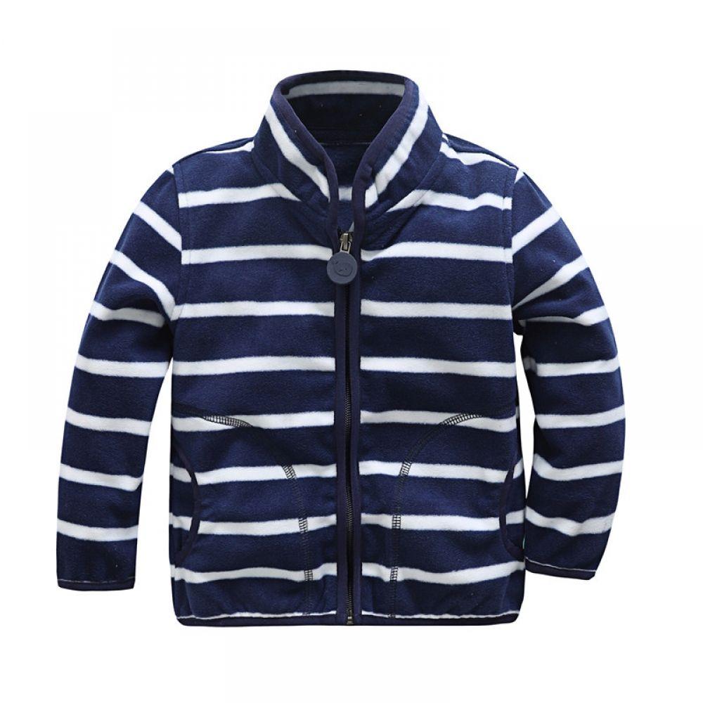 add7b508c Boy's Striped Hooded Fleece Jacket Price: 12.23 & FREE Shipping #hashtag3