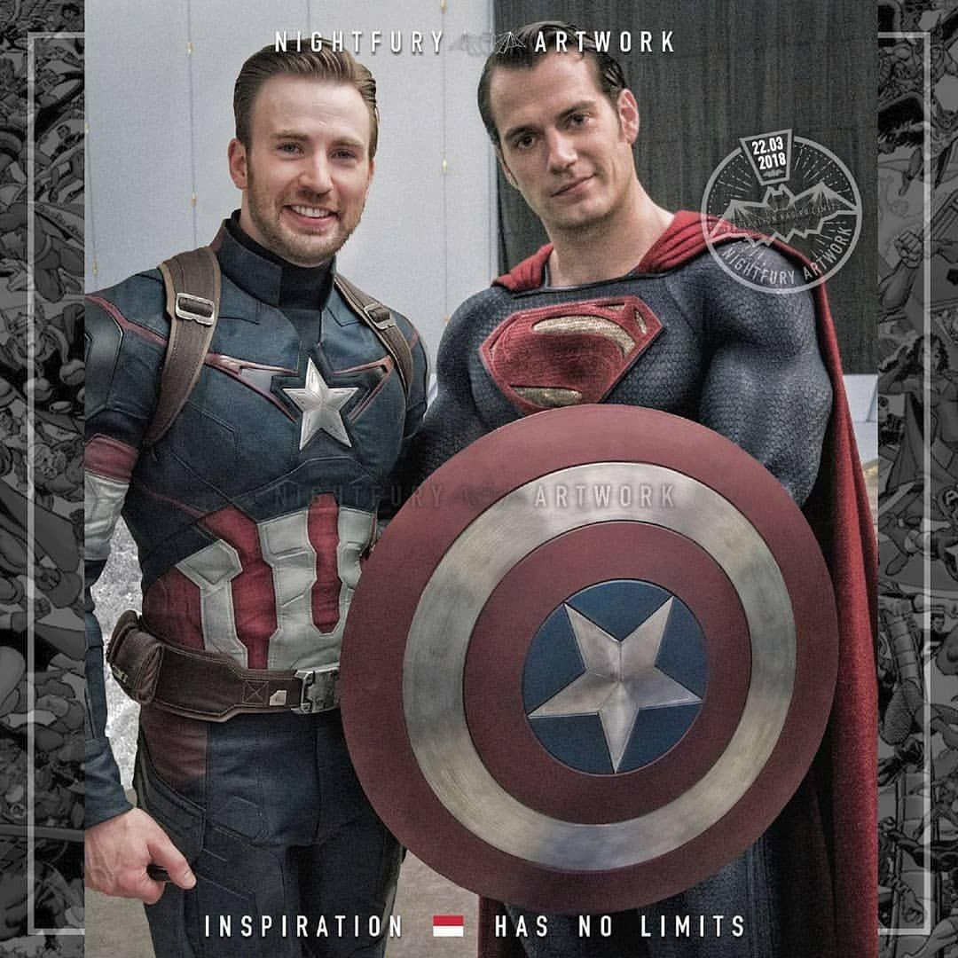 Captain America Meet Superman Shazam Blackpanther Wearevenom Blackpantherfanart Thepunisher Photoshopind Captain America Iron Man Movie Iron Man Pictures
