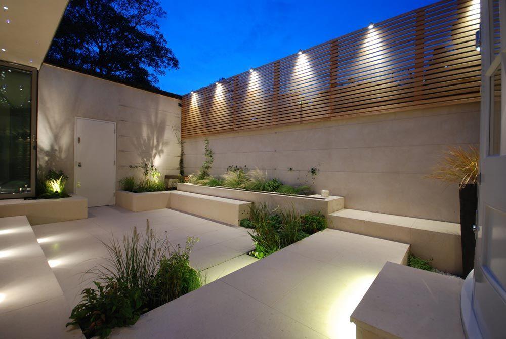 Courtyard in Chelsea   Charlotte Rowe Garden Design   Exterior ...