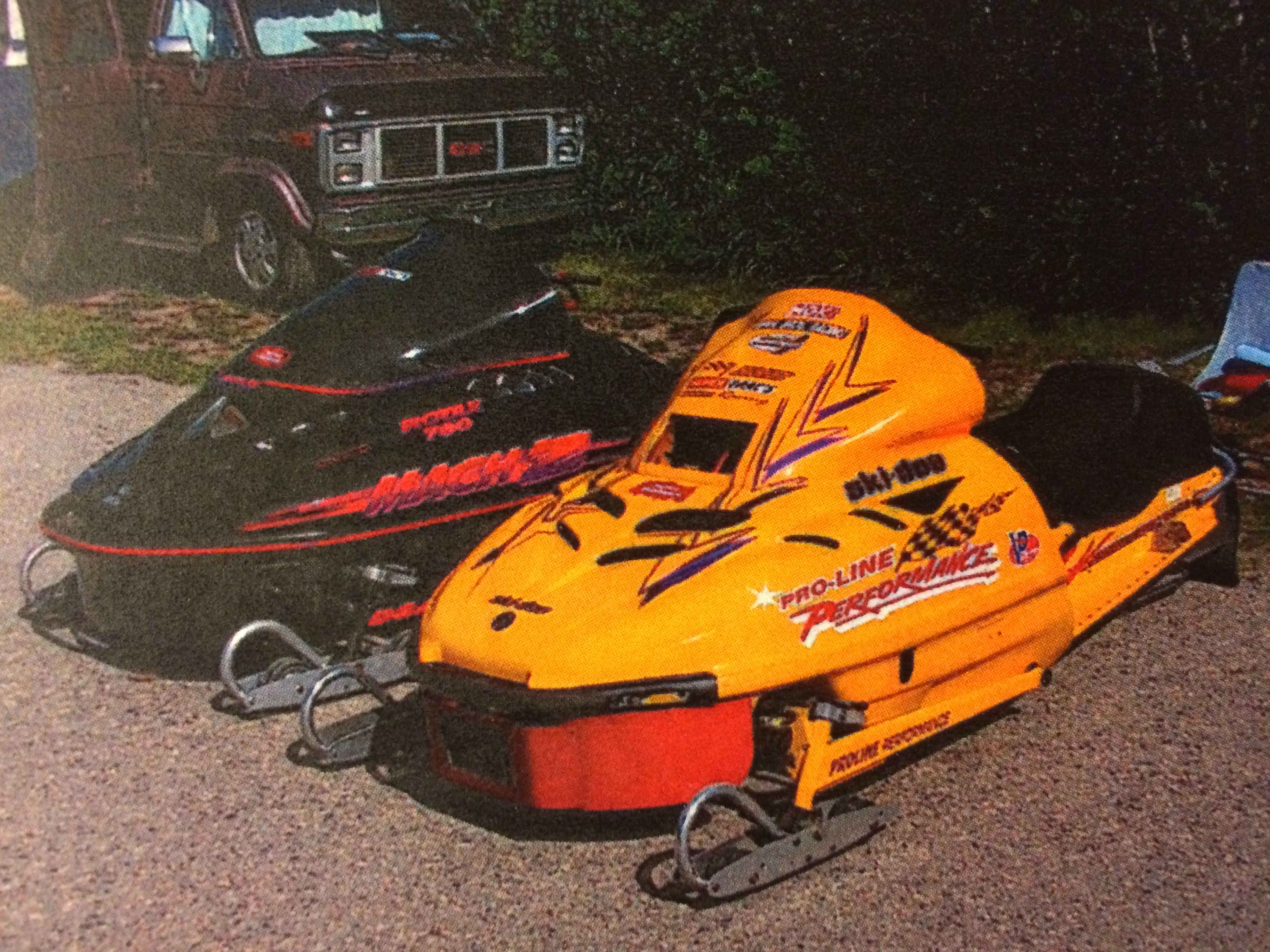 1989 Ski Doo Mxz 670 With A 780 Split Second Stoked Engine Vintage Sled Snowmobile Skiing