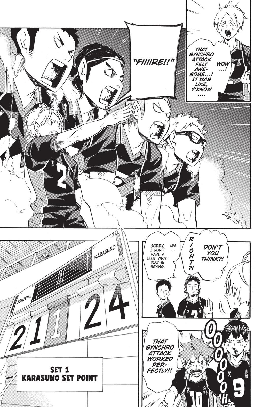 Haikyuu Chapter 111 Read Haikyuu!! Manga Online