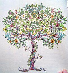 Secret Garden: An Inky Treasure Hunt and Coloring Book: Johanna ...
