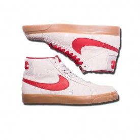 finest selection 0e353 9c580 Nike SB FTC Blazer Zoom Mid QS Shoes in Light Bone ...