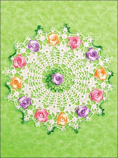 Old Fashioned Doilies ~ I have always loved this one. Grandma had similar! And I'm pushing 60 years old....definitely a timeless design.