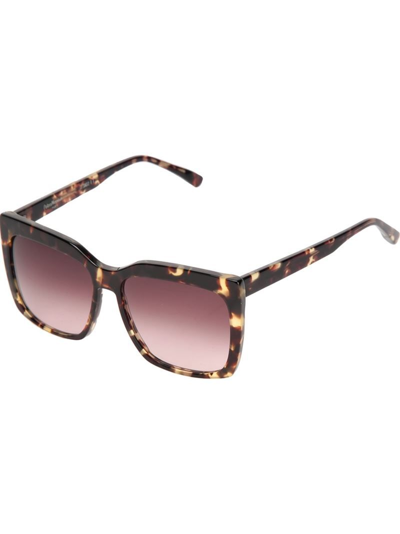 PETER & MAY WALK tortoise shell sunglasses on Vein - getvein.com