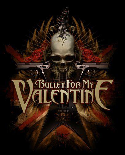 Bullet For My Valentine V Skull By Illustratorcraig