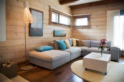 Wooden Living Room Designseuskalnet