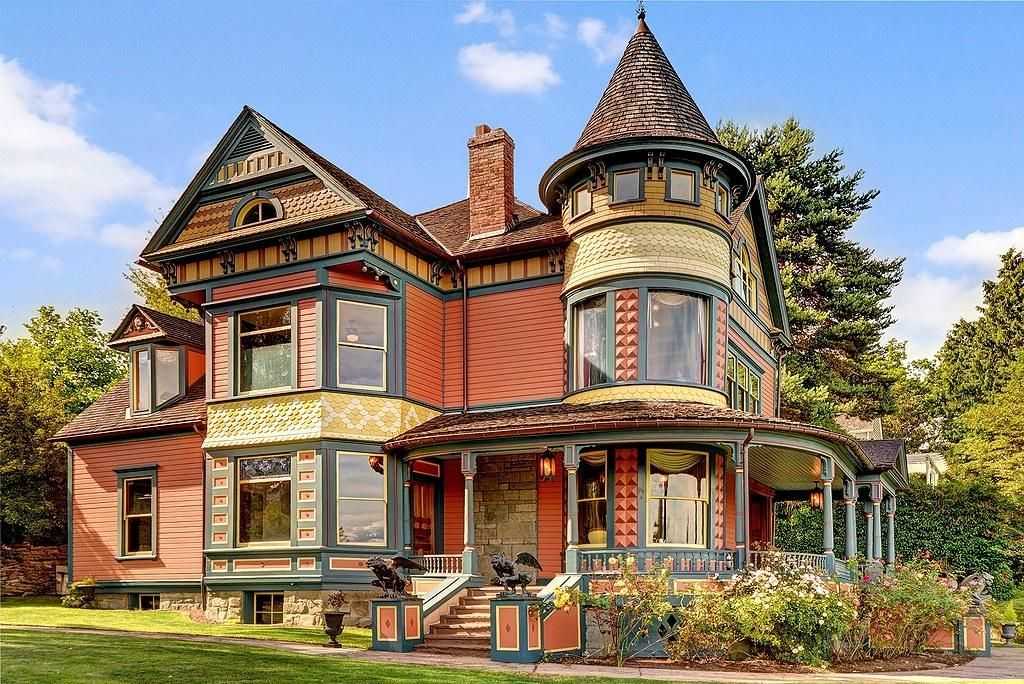 These 8 Storybook Worthy Victorian Homes Are For Sale Victorian Houses For Sale Victorian Homes Victorian Style Homes