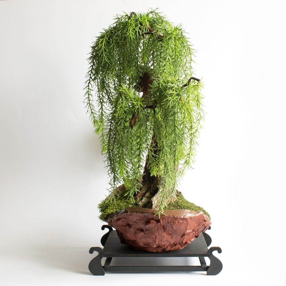 Sztuczne Drzewko Bonsai Modrzew Bonsai Sztucznebonsai