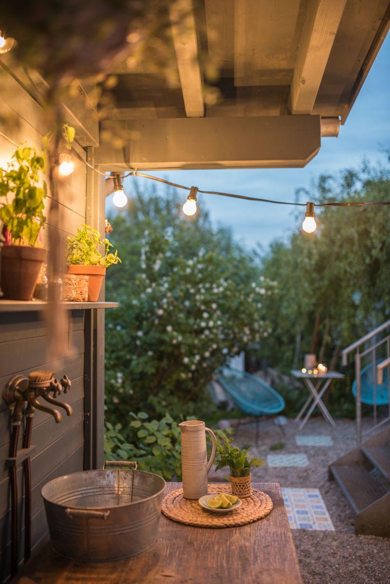DIY Terrassen makeover - vorher/ nachher (Teil 2   Pinterest ...