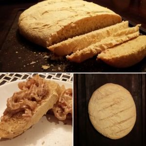Esse pão é uma delícia e combina com tudo, de acompanhamentos doces a salgados…