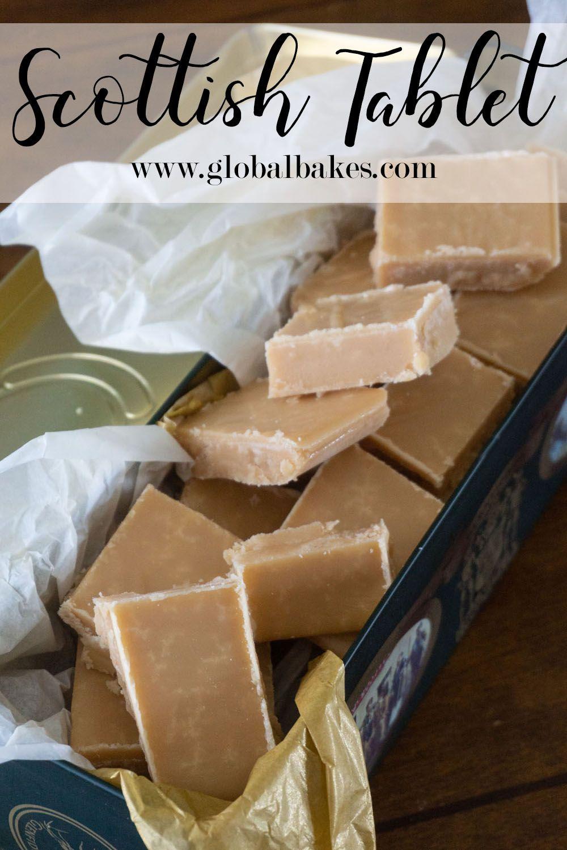 Traditional Homemade Scottish Tablet Bake Then Eat Recipe Scottish Tablet Recipes Tablet Recipe Fudge Recipes