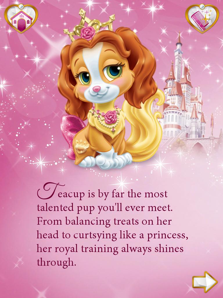 Princess Palace Pets Belle Teacup Disney Princess Palace