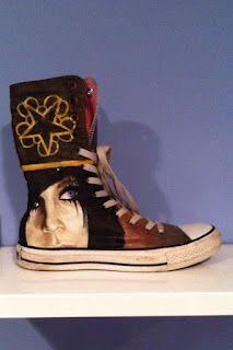 6fedc5b9dff6e3 Omg! yes! Andy Biersack Painted Converse ♥ I want these sooooooo ...