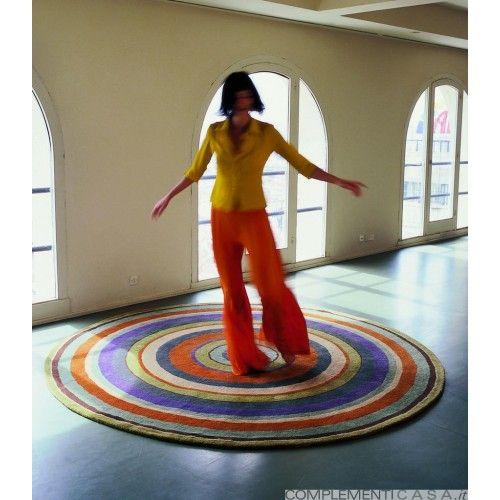 Tappeto colorato Collezione Sybilla Diana Nanimarquina