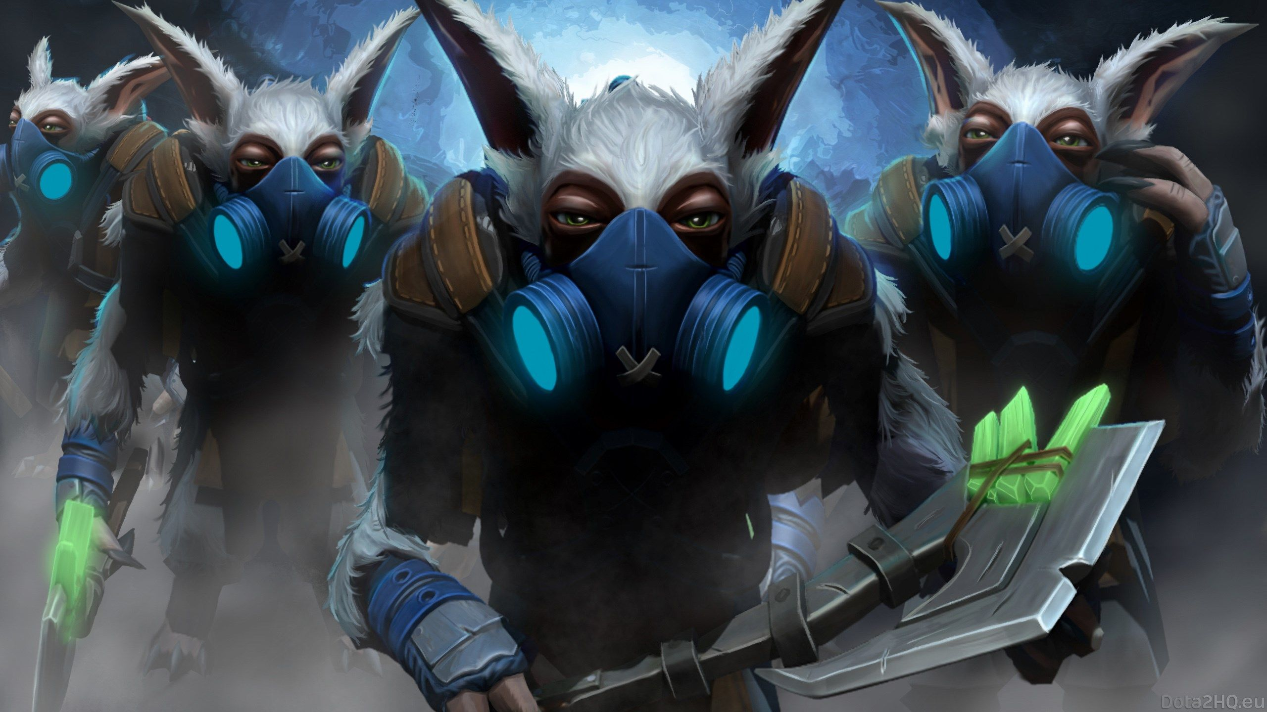 Dota 2 Wallpaper Meepo
