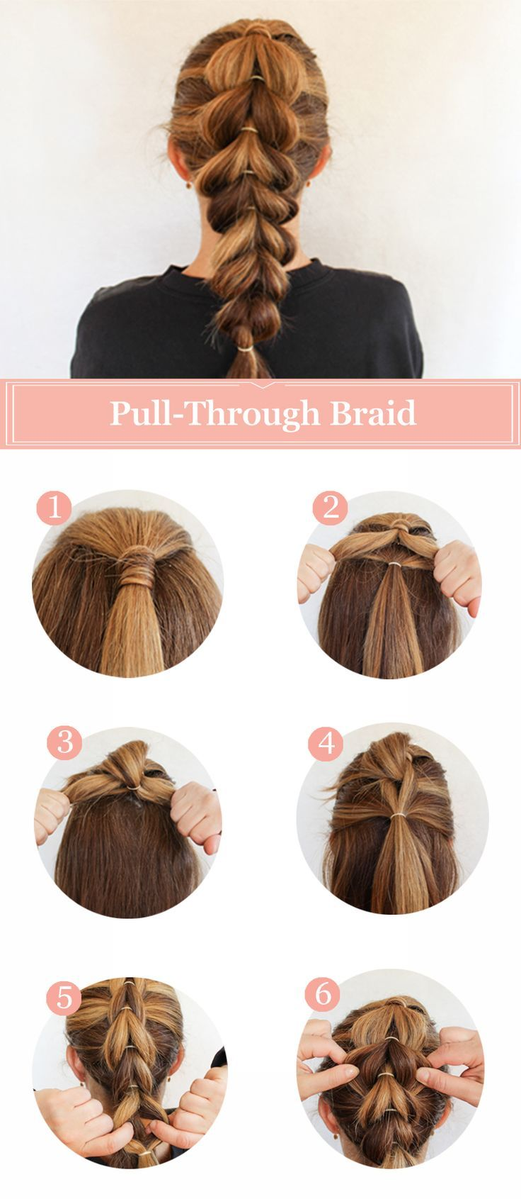 How To Create A French Pullthrough Braid