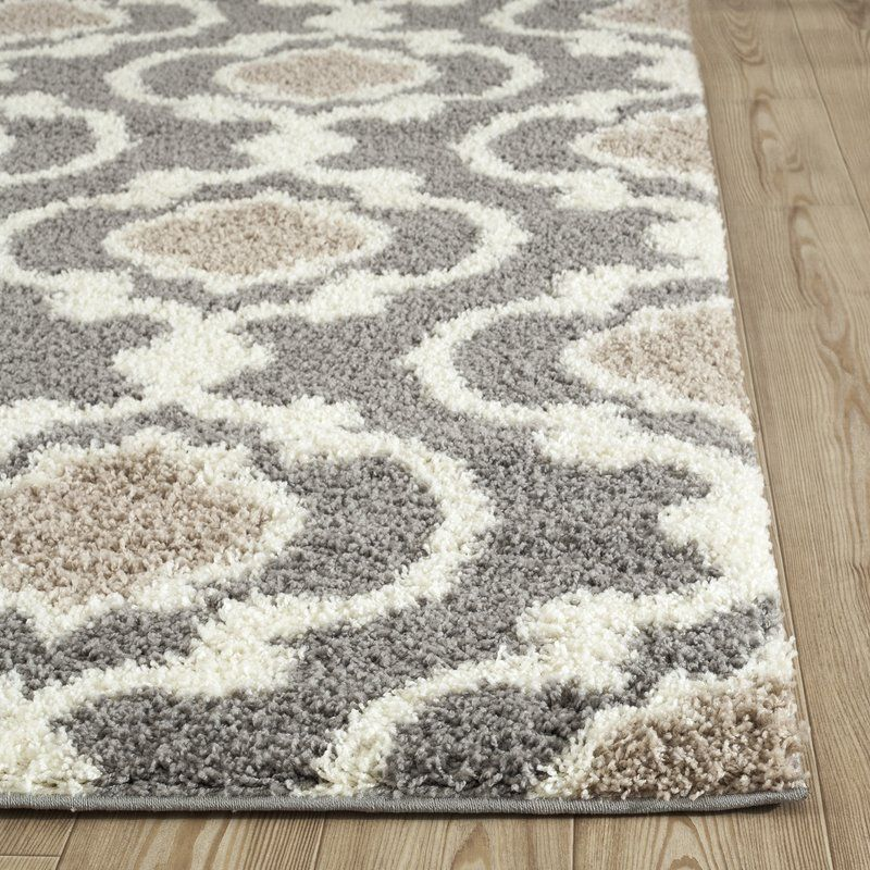 Hegwood Shag Gray Silver Area Rug In 2019 Rugs In Living