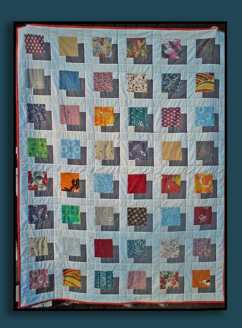 Skugga Fram Charm Square Quilt Optical Illusion Quilts Quilts