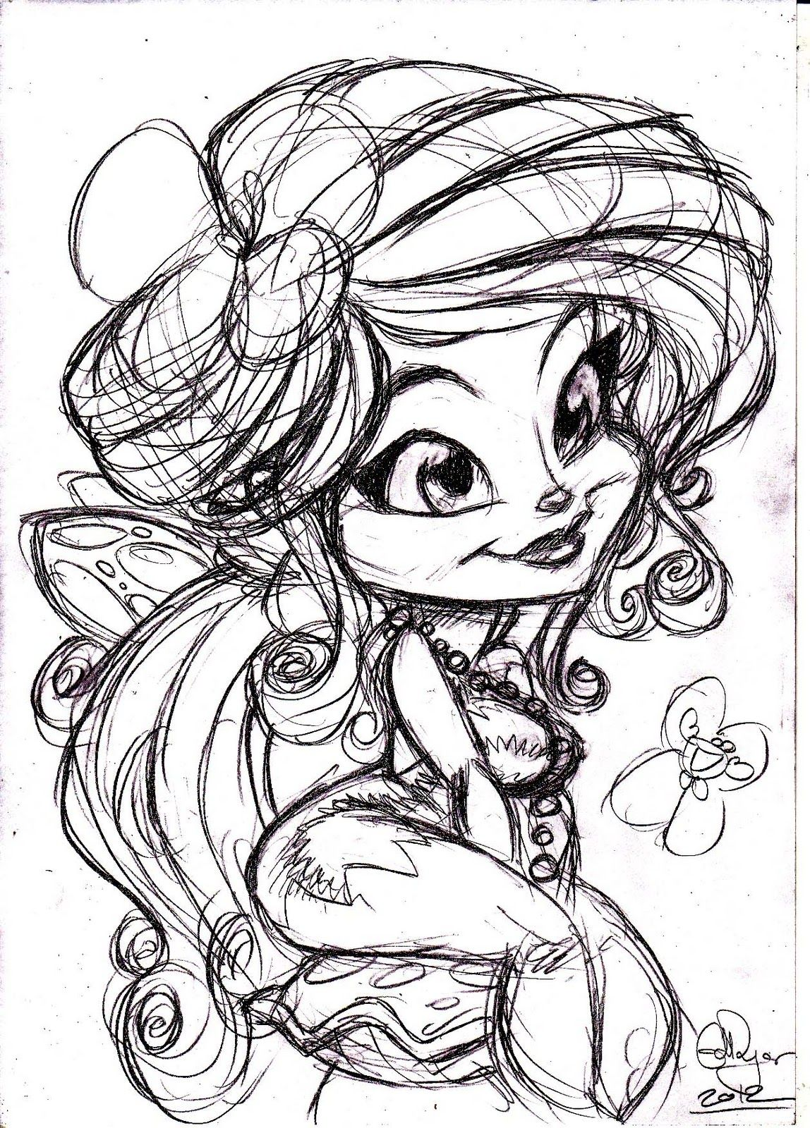 Fairy Drawings