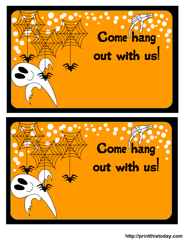 free printable halloween party invitation halloween in 2018