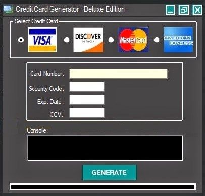 real credit card generator with security codes