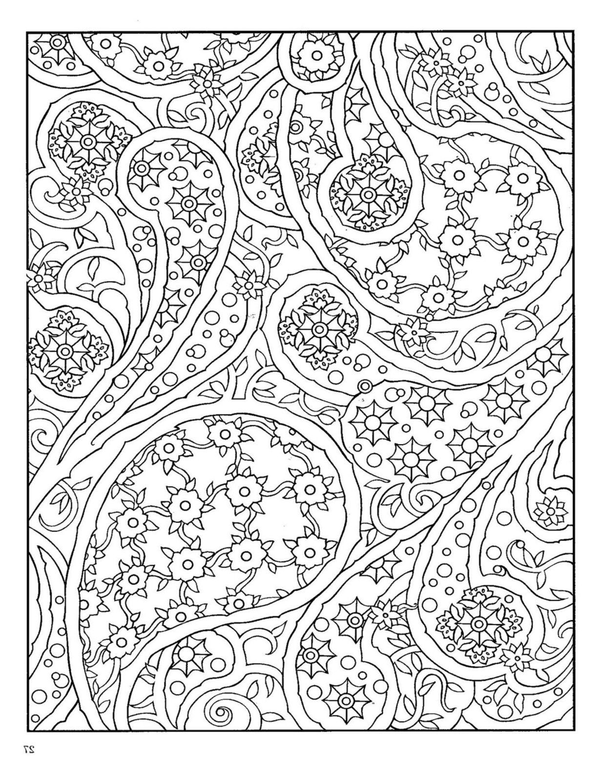 Paisley Coloring Book Paisley Coloring Pages Designs Coloring Books Mandala Coloring Pages